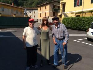 Amici del Don Guanella con Maria Carla