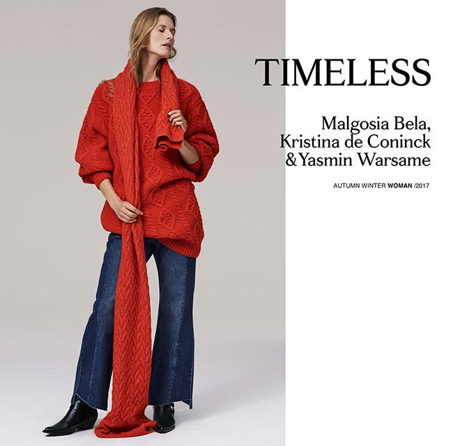 Zara and the new Timeless collection for A / I 2017-2018
